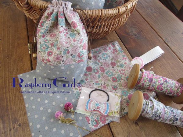 くつ袋とコップ袋女の子2