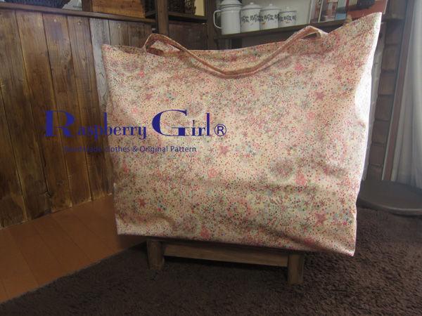 リバティビニールコーティングのお布団袋